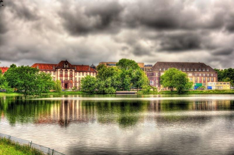 Ministerie van Rechtvaardigheid, Gelijkheid en Integratie in Kiel royalty-vrije stock foto