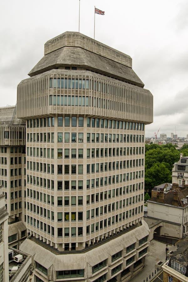 Ministerie van Rechtvaardigheid, Londen royalty-vrije stock afbeeldingen