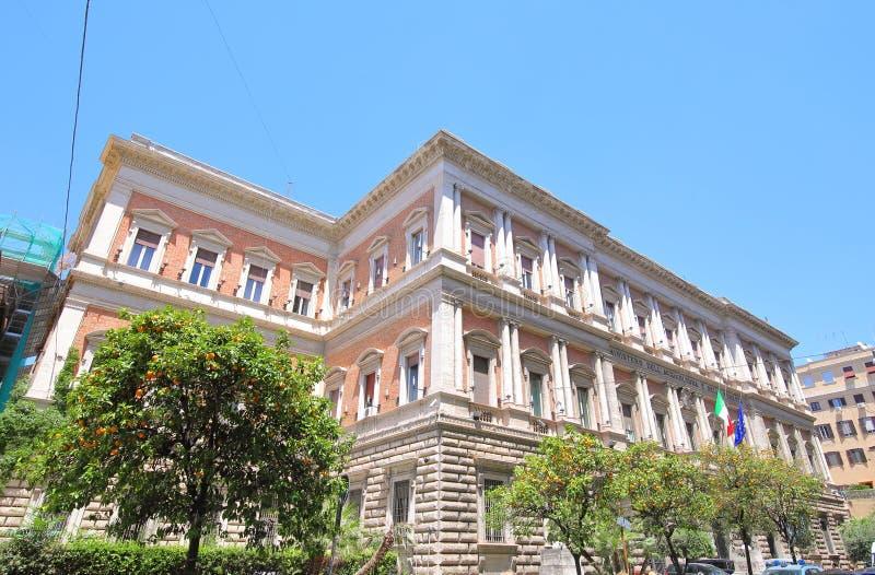 Ministeriet för jordbruk och skogsbruk, Rom Italien arkivfoto