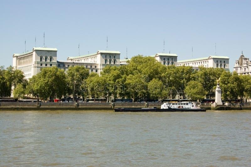 Ministerio de Defensa, Londres foto de archivo libre de regalías