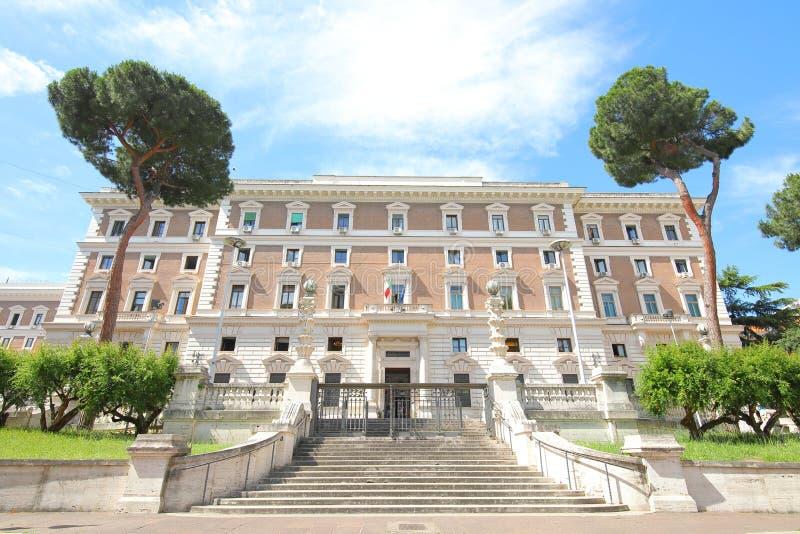 Ministerio del Interior Roma Italia foto de archivo libre de regalías