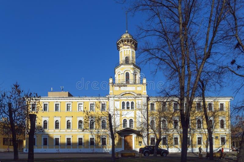 Ministero centrale del museo degli affari interni del Feder russo fotografia stock libera da diritti