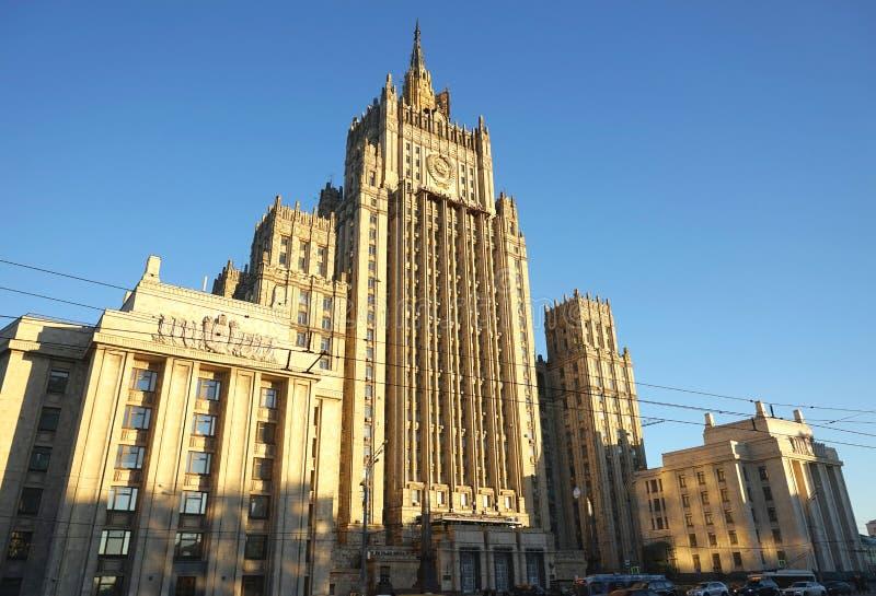 Ministero degli affari esteri immagini stock