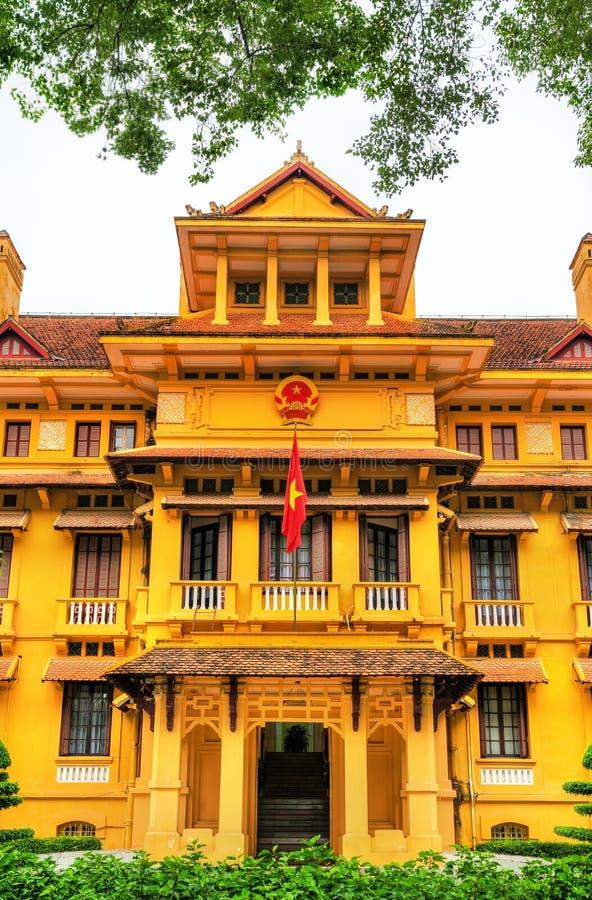 Ministero degli affari esteri del Vietnam a Hanoi fotografie stock libere da diritti
