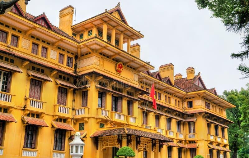 Ministero degli affari esteri del Vietnam a Hanoi fotografia stock libera da diritti