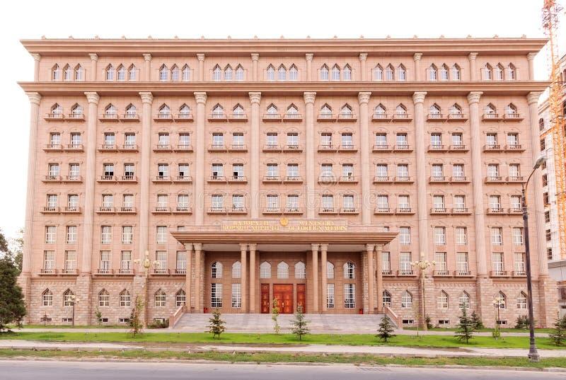 Ministero degli affari esteri della Repubblica del Tagikistan Dusha immagine stock libera da diritti