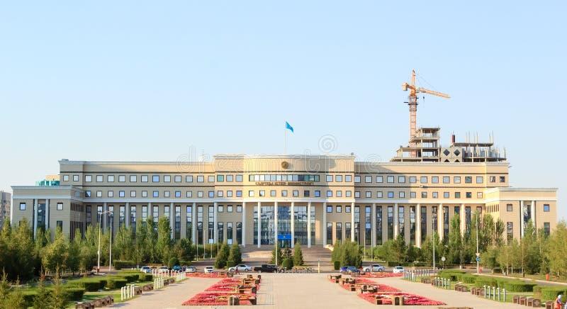Ministero degli affari esteri Repubblica del Kazakistan Astana, Kaza fotografia stock libera da diritti