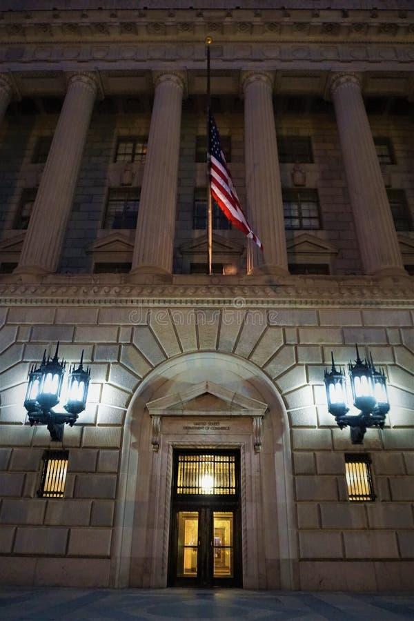 Ministero del commercio degli Stati Uniti l'entrata fotografia stock libera da diritti