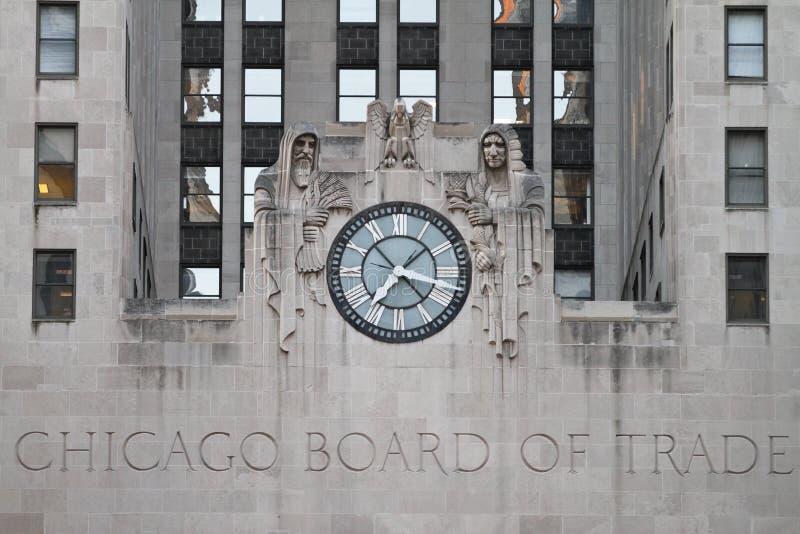 Ministero del commercio del Chicago la costruzione immagini stock libere da diritti