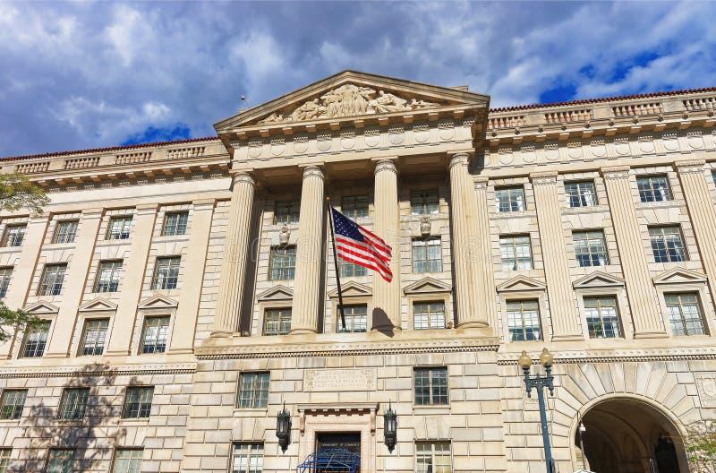 Ministero del commercio in Herbert Hoover Building fotografia stock