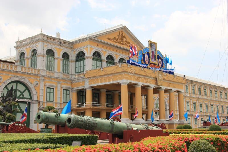 Ministero della difesa a Bangkok, Tailandia fotografia stock