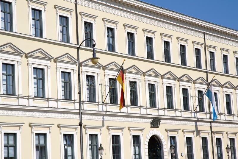 Ministero delle Finanze bavarese a Monaco di Baviera fotografie stock