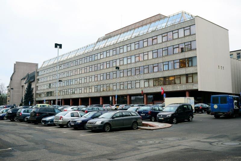 Ministero di agricoltura della casa di ufficio della Lituania immagine stock libera da diritti