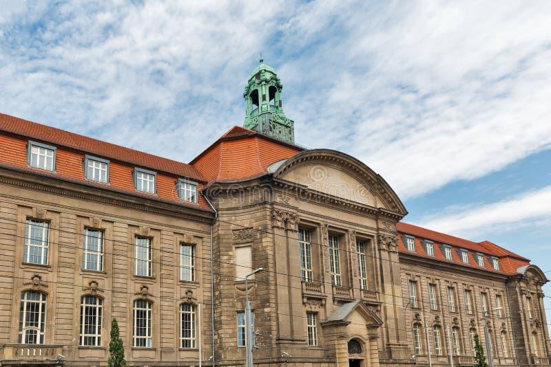 Ministero federale per gli affari economici e l'energia Berlino, Germania fotografia stock libera da diritti