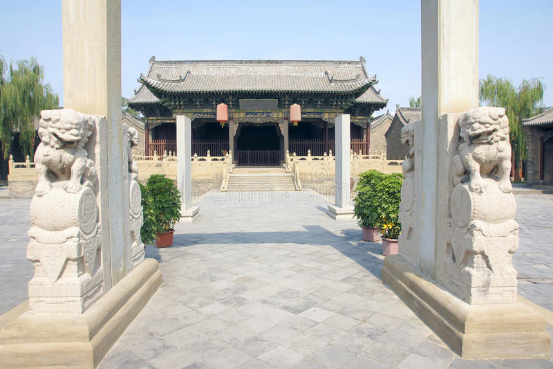 Ministerstwo feodalny Chiny zdjęcia stock