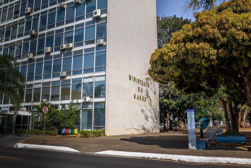 Ministerstwo Zdrowia budynek - Brasilia, Distrito Federacyjny, Brazylia fotografia royalty free
