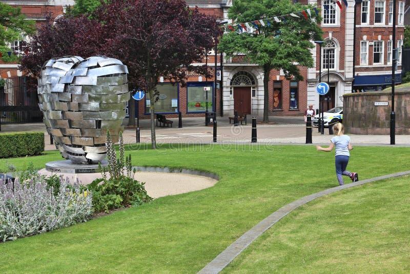 Ministrów ogródy, Rotherham zdjęcie royalty free