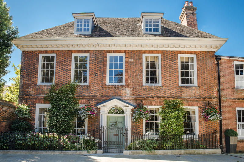 Ministra dom, Winchester, Hampshire, Anglia obrazy royalty free