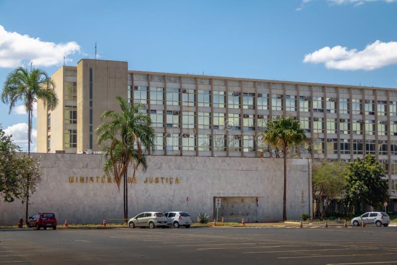 Ministra Sprawiedliwości budynek - Brasilia, Distrito Federacyjny, Brazylia obrazy stock