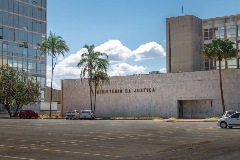 Ministra Sprawiedliwości budynek - Brasilia, Distrito Federacyjny, Brazylia zdjęcie royalty free