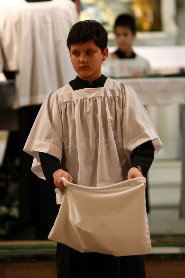 ministranta katolik obrazy royalty free
