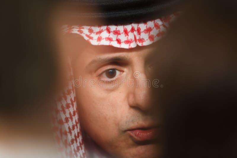 Ministro de asuntos exteriores de la Arabia Saudita Adel al-Jubeir imagen de archivo