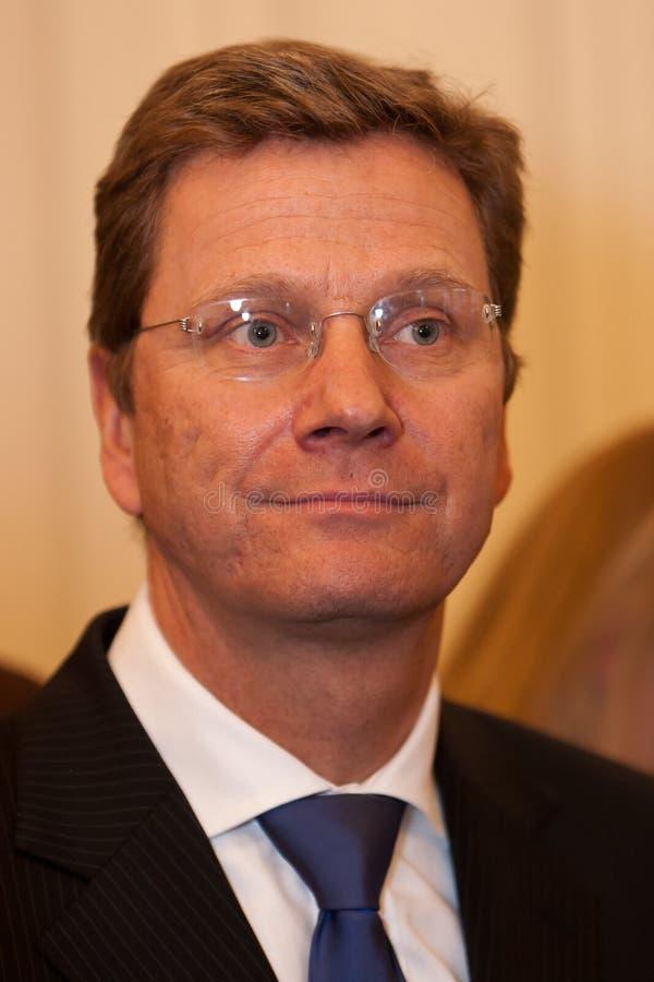 Ministro degli affari esteri Guido Westerwelle del tedesco fotografia stock libera da diritti