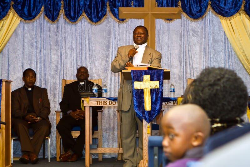 Ministro del americano del Kenyan imagen de archivo libre de regalías