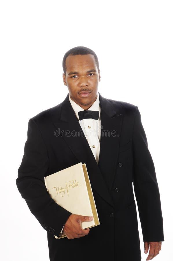 Ministro do americano africano fotografia de stock royalty free