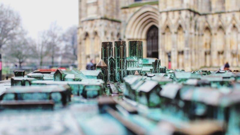 Ministro modelo à escala de York imagem de stock royalty free