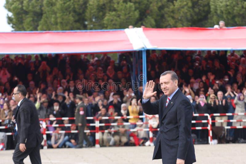 Ministro Primo Recep Tayyip Erdogan della Turchia immagine stock libera da diritti