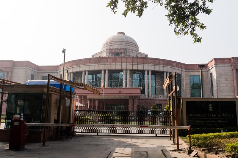 Ministry of external affairs. New Delhi India royalty free stock images