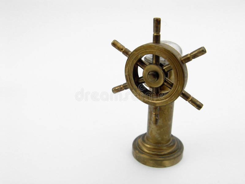 Download Miniture Boat Wheel stock photo. Image of abstract, device - 19568