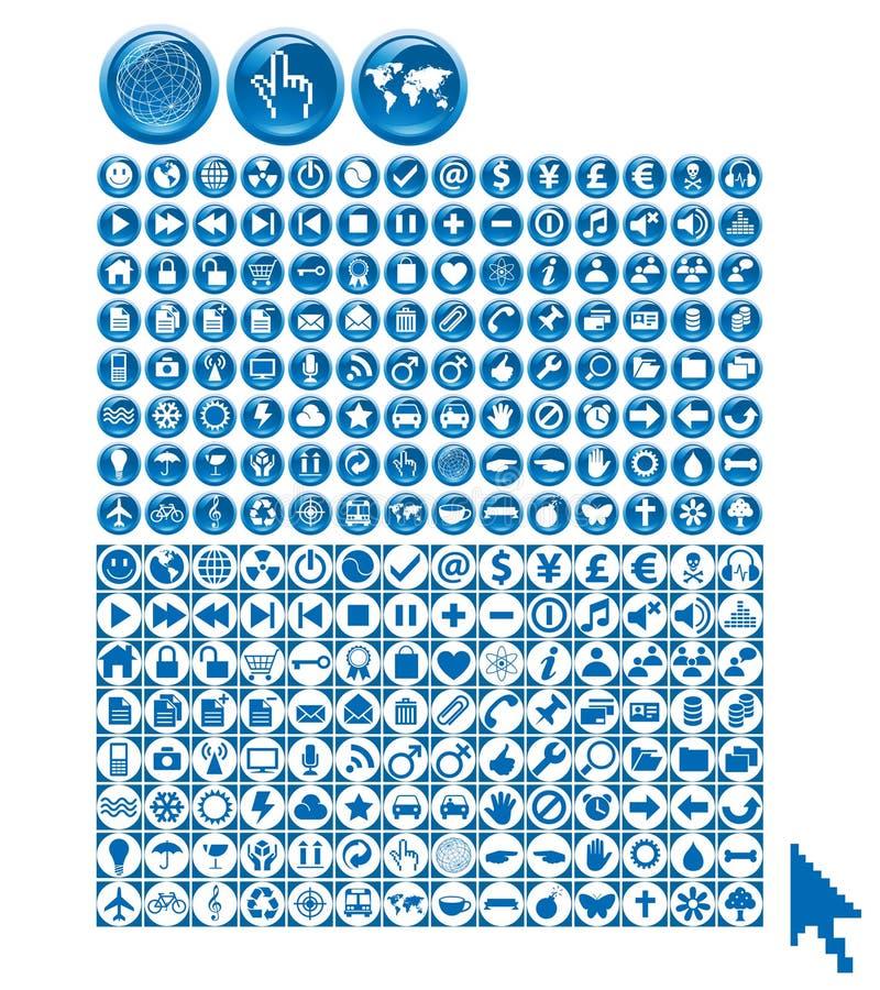 miniuniversal royaltyfri illustrationer
