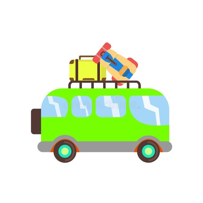 Minivan σημάδι και σύμβολο εικονιδίων διανυσματικό που απομονώνονται στο άσπρο υπόβαθρο, έννοια λογότυπων Minivan ελεύθερη απεικόνιση δικαιώματος