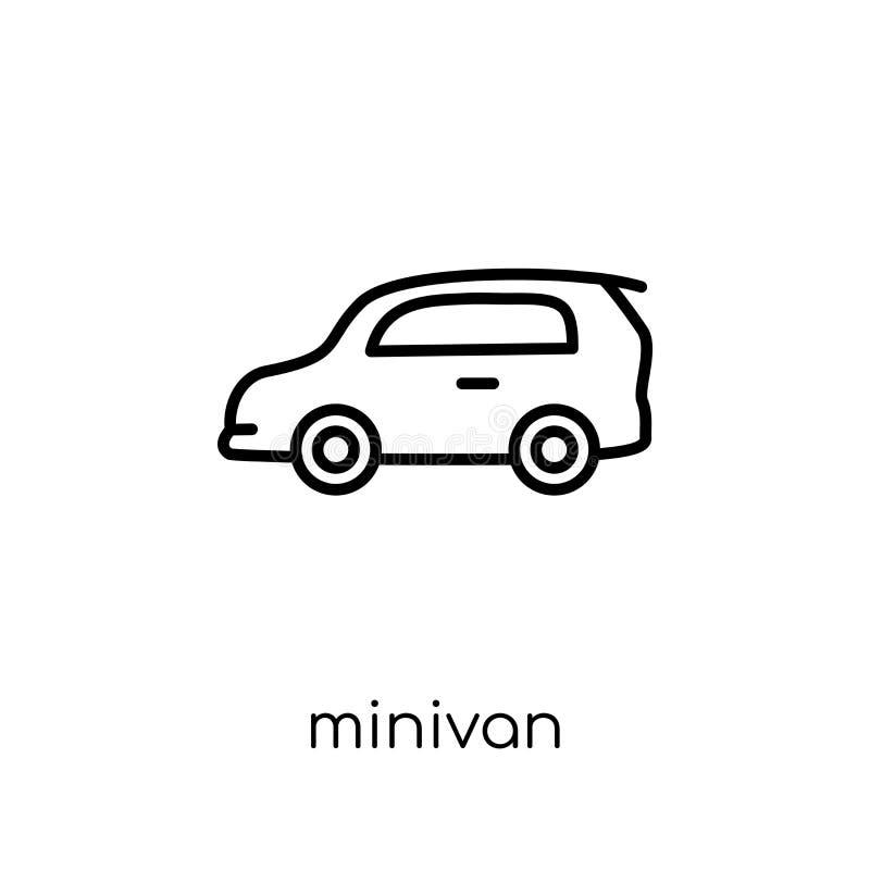 minivan icon from Transportation collection. stock illustration