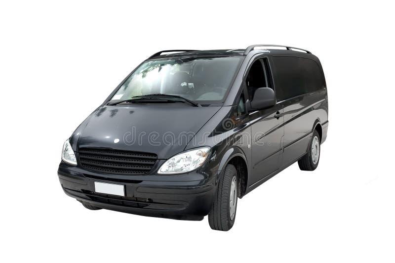 Minivan, isolated royalty free stock image
