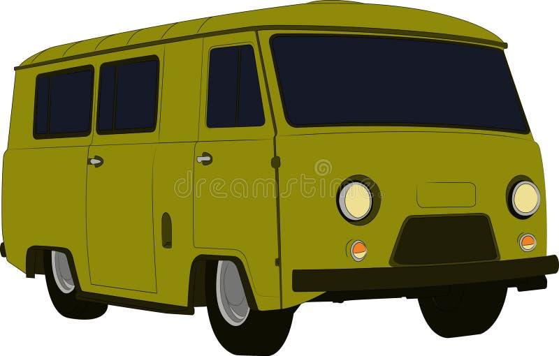 Minivan stock photography