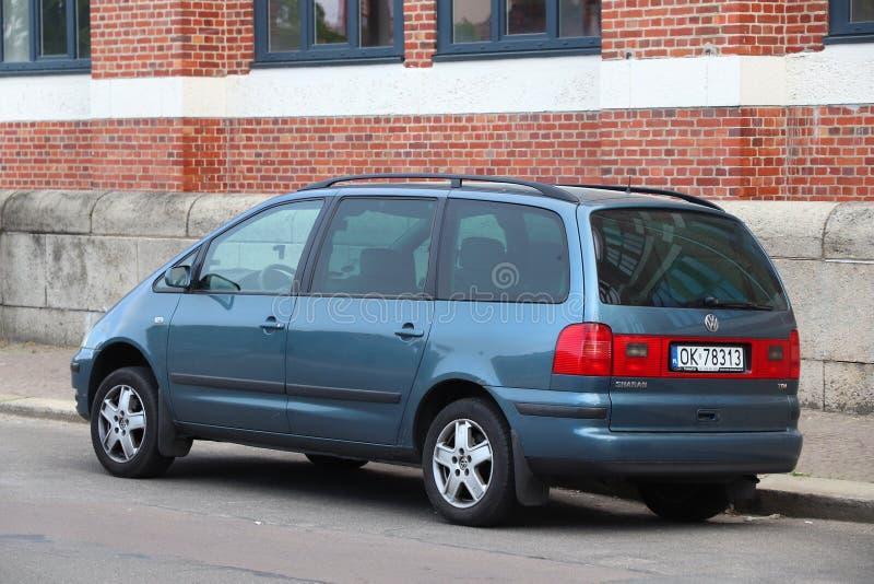Minivan Volkswagen royalty-vrije stock fotografie