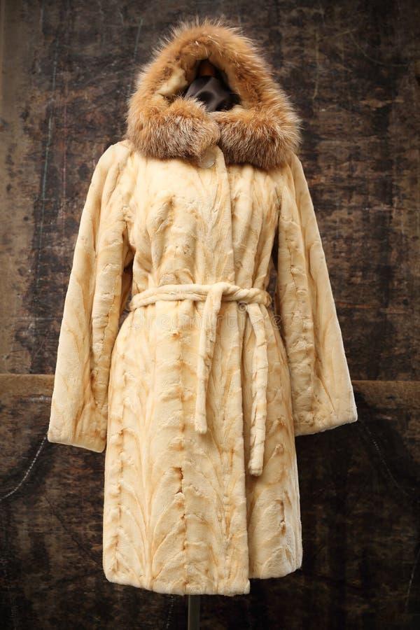Mink coat royalty free stock photography