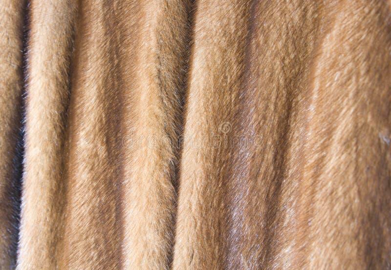 The mink fur coat