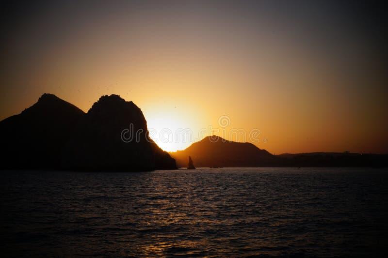 Minnaarsstrand, Cabo royalty-vrije stock afbeeldingen