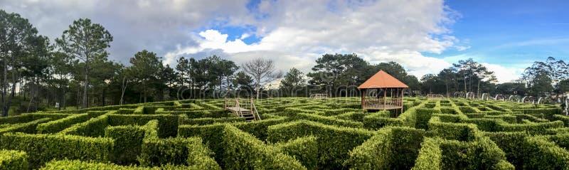Minnaarvallei van labyrint royalty-vrije stock foto's