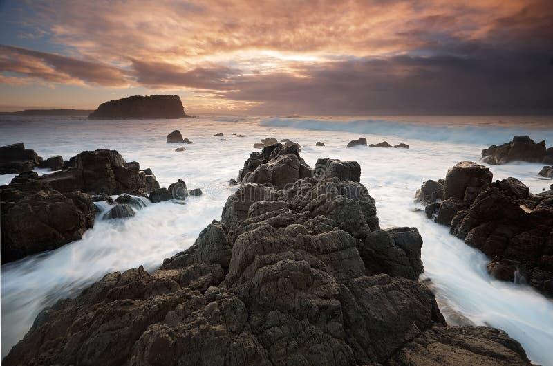 Minnamurra i sterty wyspa fotografia stock