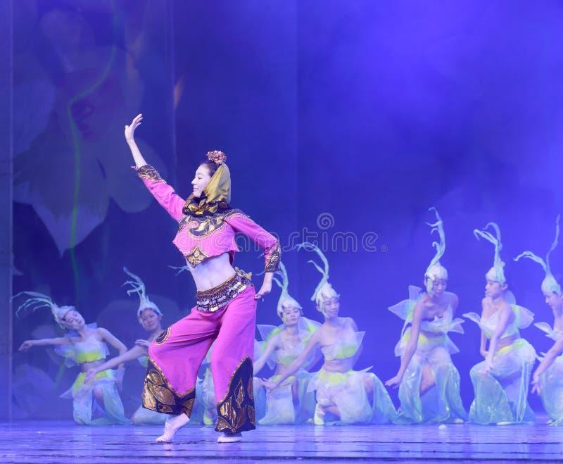 Minnanshenyun del sud di ballo tradizionale della Cina fujian immagine stock