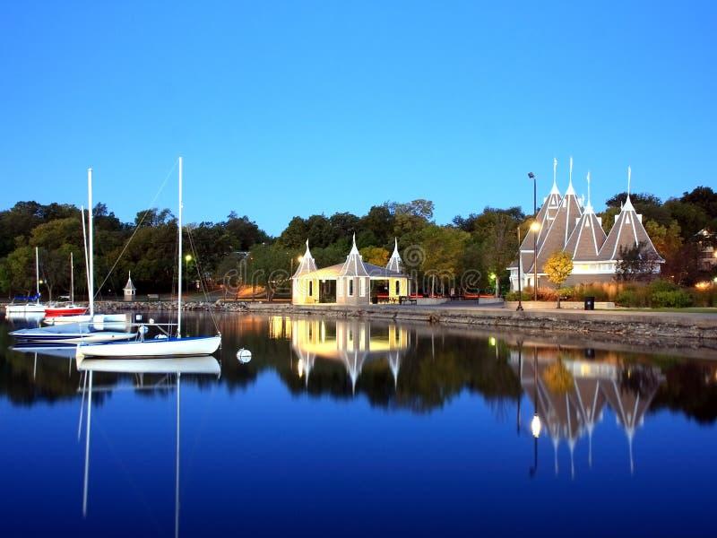 minneapois de lac de Harriet photos stock