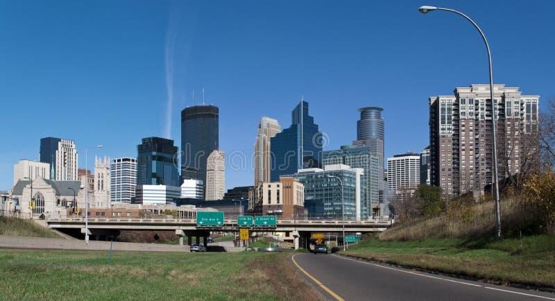 Minneapolis. A view of downtown Minneapolis Minnesota royalty free stock photos