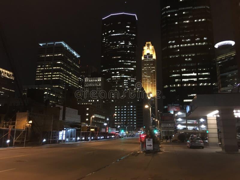 Minneapolis linia horyzontu zdjęcia stock