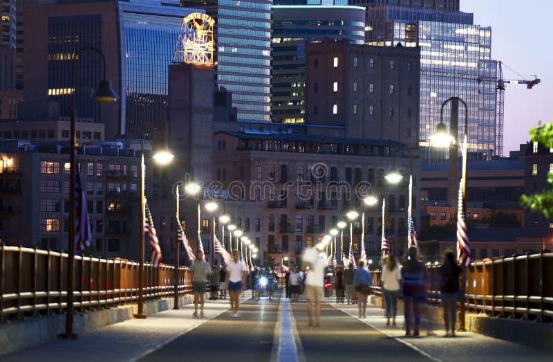 Minneapolis Stone Arch stock photos