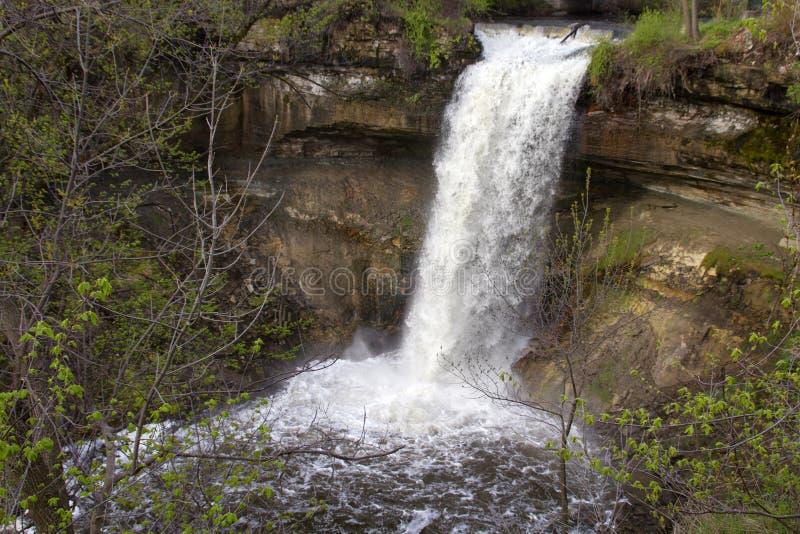 Minnehaha historique tombe le Minnesota images stock